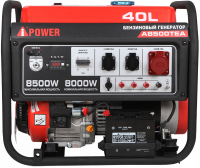 Бензиновый генератор A-iPower A8500TEA